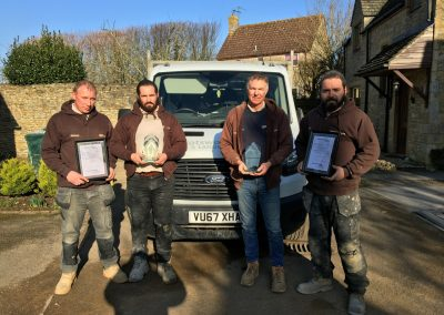 Award Winning Cotswold paving and Landscaping team