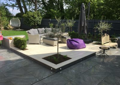 Cotswold paving and landscaping bespoke design and installation