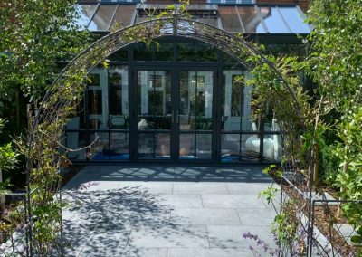 Patio installation in cotswold house and landscaping