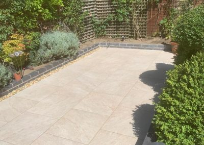 After garden and landscaping patio and paving installation cotswolds