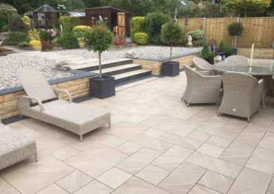 Patio and landscpaing project installation and design cotswolds