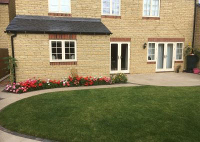 Paving garden and landscaping cotswolds design and installation