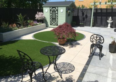 Cotswold paving and landscaping job
